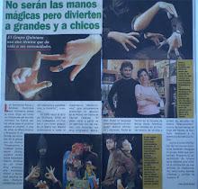 """""""Los Pimpinela de los títeres"""""""