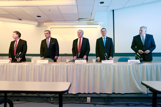 Attorney general candidates speak on Kane, death penalty