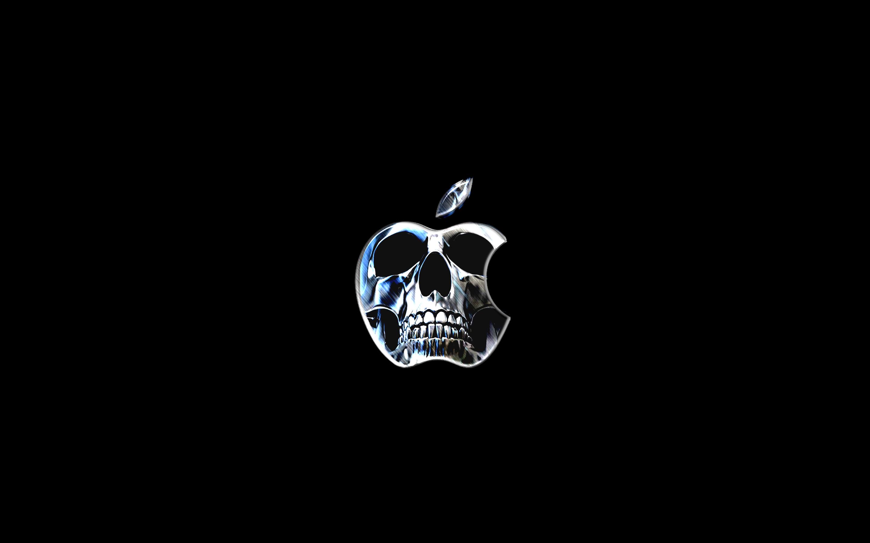 Apple Logo Wallpaper Skull 骸骨 Laggdogg Wallpapers