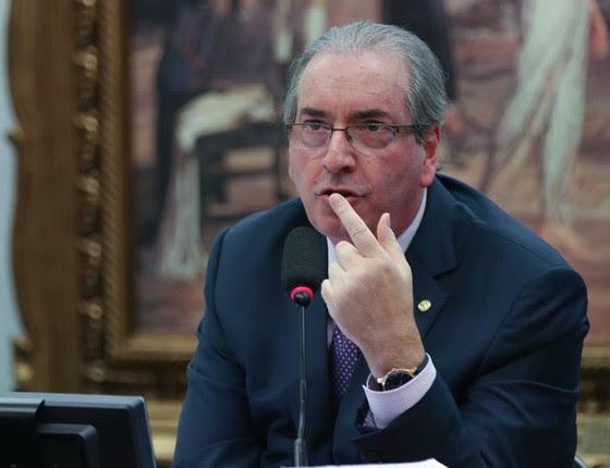 Eduardo Cunha se defende na CCJ da Câmara (Foto: Fabio Rodrigues Pozzebom/Agência Brasil)