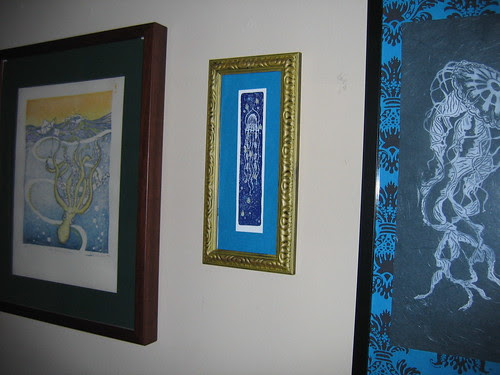 octopus and jellyfish prints