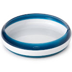 OXO Tot Plate with Removable Training Ring - Navy