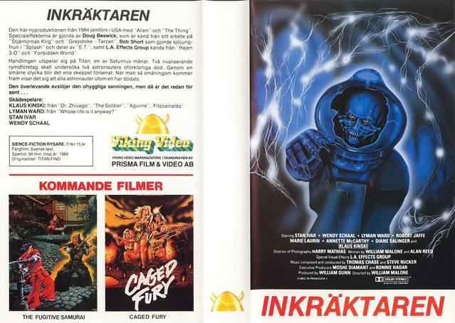 Inkraktaren (VHS Box Art)