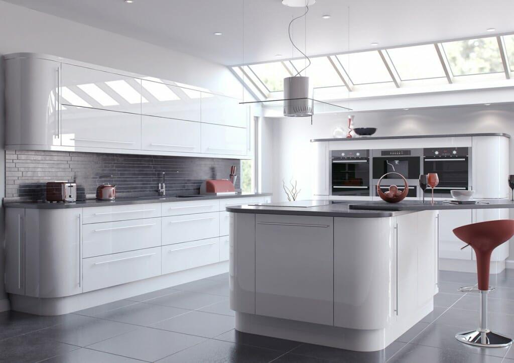 High Gloss Kitchens - Mastercraft Kitchens