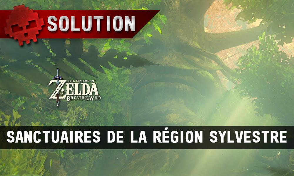 Soluce The Legend Of Zelda Breath Of The Wild Sanctuaires