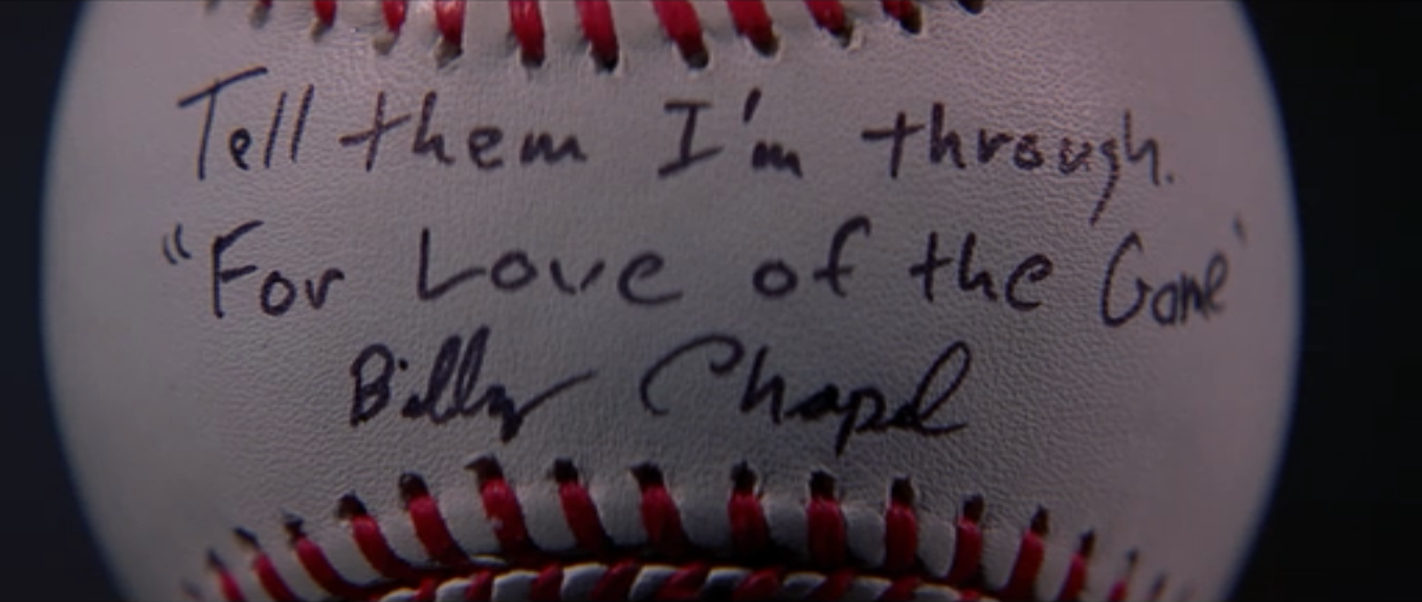 For The Love Of The Game Movie Quotes Thousands Of Inspiration