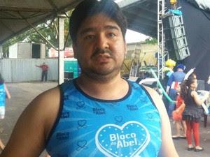 Abel Nascimento, autismo, Bloco do Abel, Macapá, Amapá (Foto: Jorge Abreu/G1)