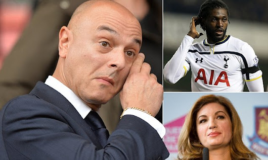 Tottenham's Daniel Levy is one of football's fiercest negotiators