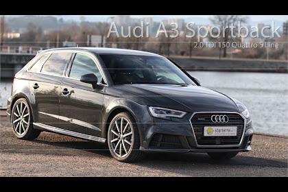 Audi A3 Sportback Quattro S Line