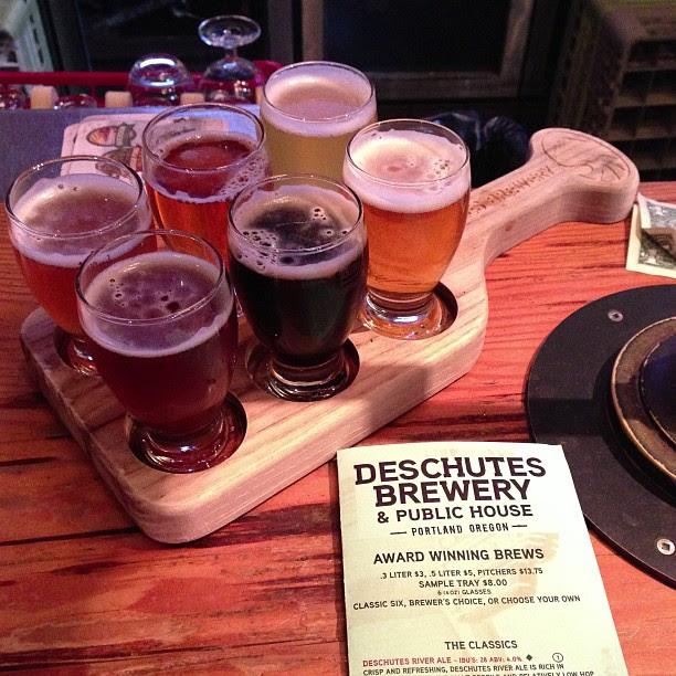Sampler! #beer