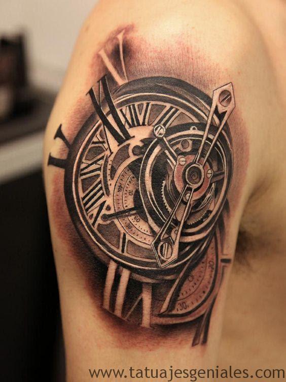 Tatuajes De Relojes De Bolsillo Antiguos Guatelinda