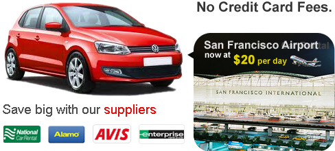 Car Hire San Francisco Airport | Great Deals on Car Hire in San Francisco Airport at Low Cost