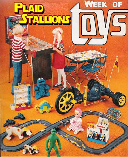 its toy week at plaid stallions