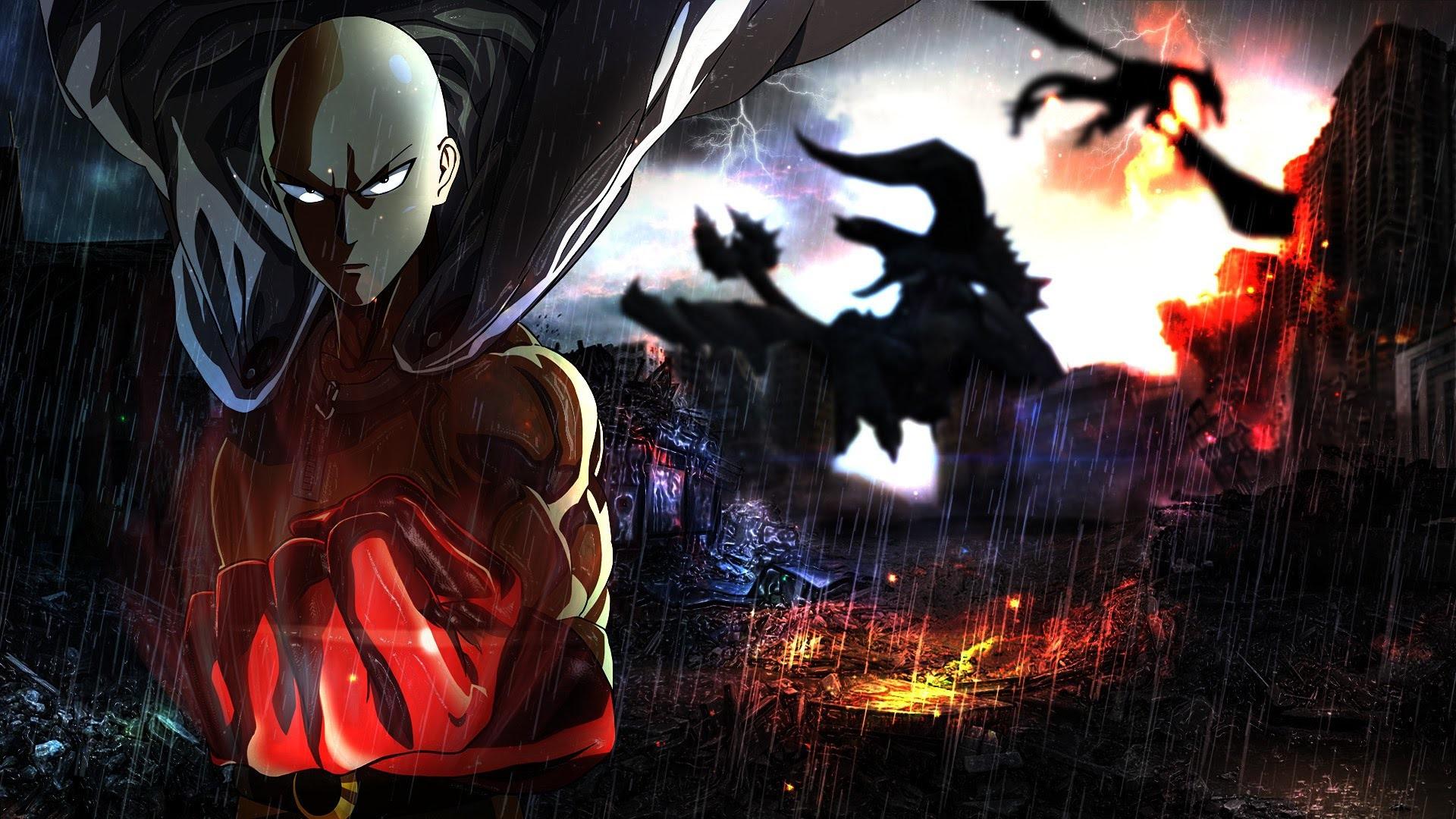 Unduh 980+ Wallpaper Hd Anime One Punch Man Gratis Terbaik