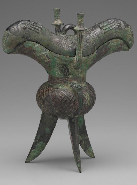 theancientwayoflife: ~ Wine Vessel (Jue).... | Andrew Ledford Views