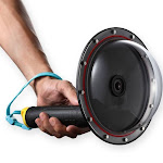 """telesin 6"""" dome port with floaty grip"""