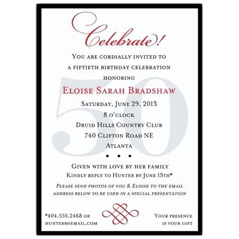 Classic 90th Birthday Invitations   PaperStyle