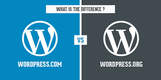 WordPress.com vs WordPress.org-What's the difference?