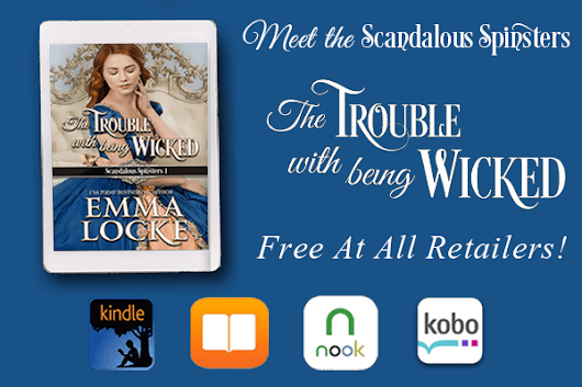 Start the Scandalous Spinsters series for free!