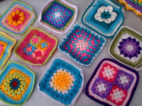 'Sunshine Squares for our 'SIBOL'  Blankets!  From Latvia Elizabeth Cat! Thank you so much Elizabeth!