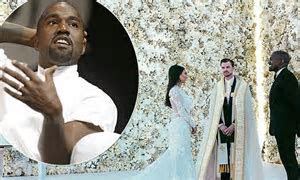 Kanye West reveals Kim Kardashian's wedding dress