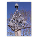 Swannington village sign on a sunny day in Norfolk Greeting Card