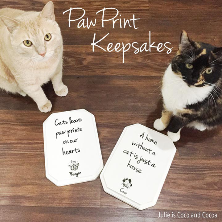 Paw Print Keepsakes - Julie is Coco and Cocoa - HMLP 83 - Feature