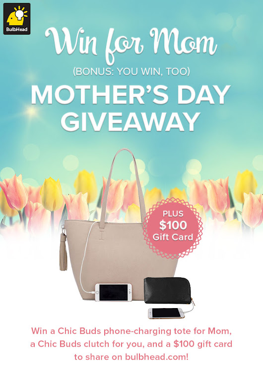 Mother's Day Giveaway - Ends 5/1