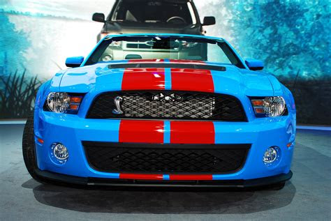 ford mustang shelby gt convertible detroit
