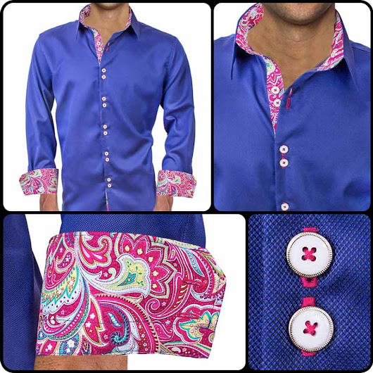 Mens Designer Dress Shirt : Serendipity