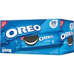 Oreo Sandwich Cookies, 2.4 oz, 30-count