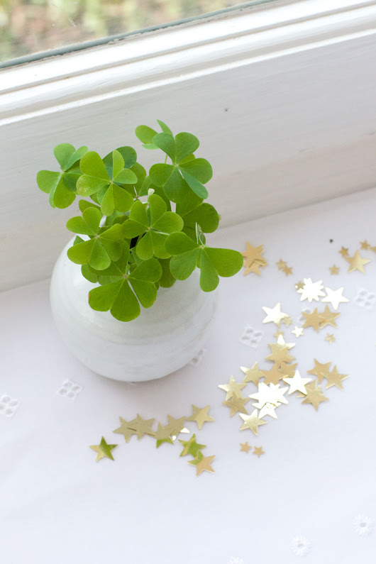 A Little St Paddy's Day Table Centrepiece | Bit Square