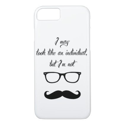 Just Hipster Stuff iPhone 7 Case