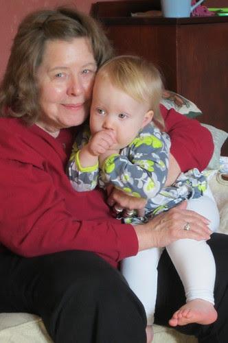 grandma & lauren