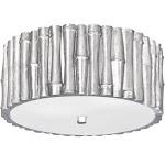 Crystorama Lighting-9010-SA-Masefield - Two Light Flush Mount Antique