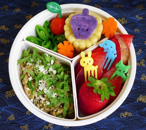 Orzo Salad Bento by sherimiya ♥
