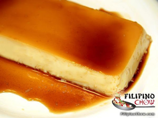 "Nestlé La Lechera on Twitter: ""Chow down! #FlanFriday #LaLechera MT @FilipinoChow: Eggless Leche Flan. RECIPE:  """