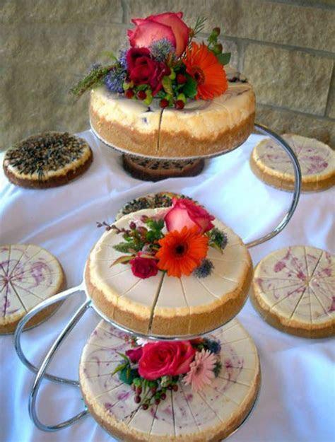 22 Yummy And Trendy Cheesecake Wedding Cakes   Weddingomania