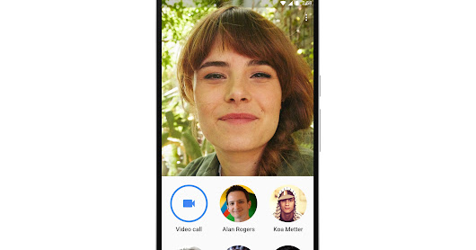Knock Knock, Who's there? Google Duo voice calling