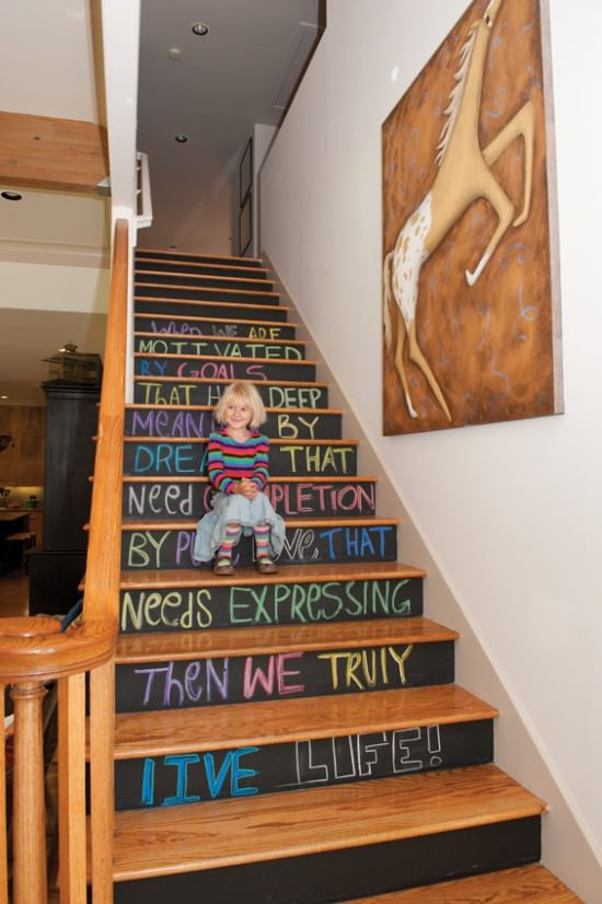 Chalk It Up!   Decorating Your Small Space