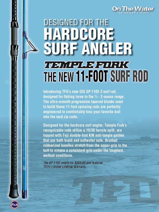 Win A Temple Fork Surf Rod