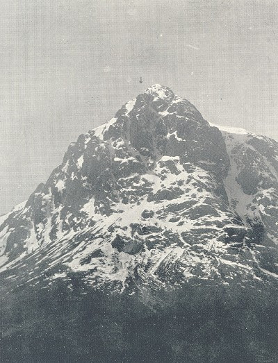 North-east face of Buchaille Etive Mor