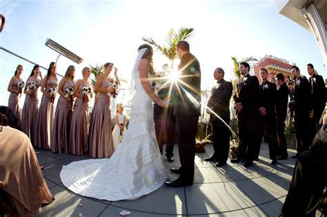 Bridal Party at the altar   Events by Design Blog