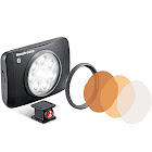 Manfrotto Lumimuse 8 On-Camera LED Light with Built-In Bluetooth (Black) MLUMIMUSE8A-BT