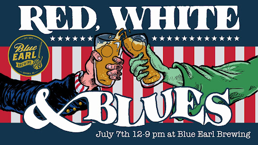 Red White and Blues - July 7, 2018 at 12:00 pm - The Juke at Blue Earl Brewery