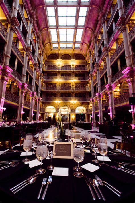 George Peabody Library   Baltimore, MD Wedding Venue
