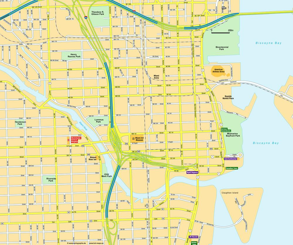 Miami Map Usa Map Guide 2016