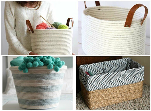 DIY Basket: 8 Extra Easy Ways To Do It | World inside pictures