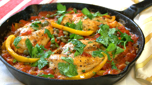 One Pan Chicken Breast Roman Style - Cook n' Share - World Cuisines