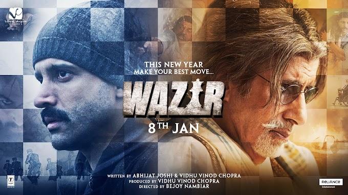 Wazir (2016) BluRay Hindi 720p Download